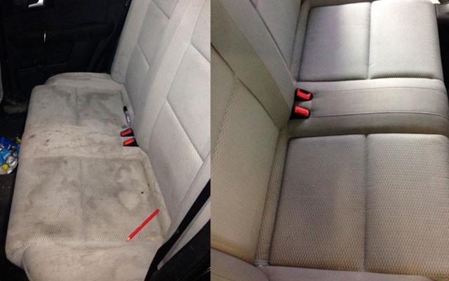 bil rengøring indvendig