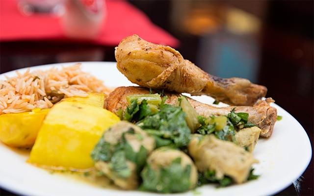 Fuld af farver og smag for Aria persian cuisine