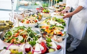 Stor pinsebuffet på Hotel Ringkøbing