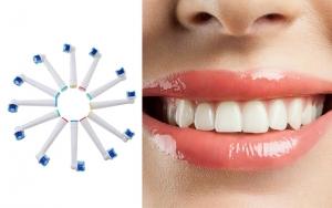 Smil stort med fine tænder