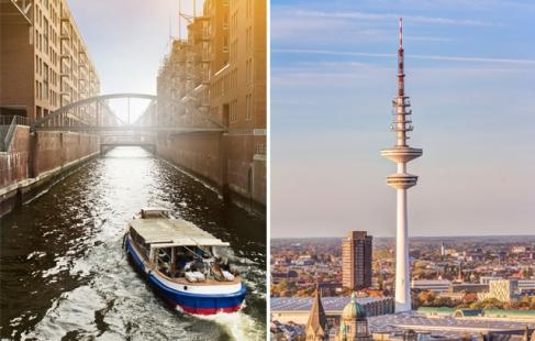 Getaway for 2 til Hamburg
