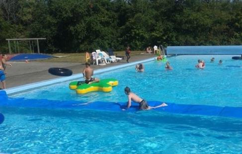 Sommersjov i friluftsbadet