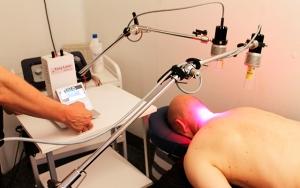 Fri for smerte med laser