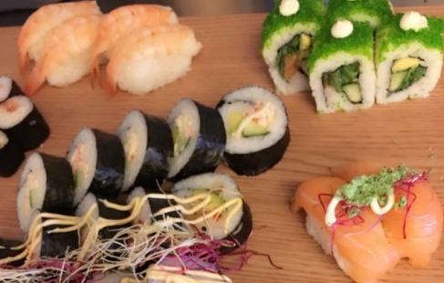 Smagfuld sushi til alle