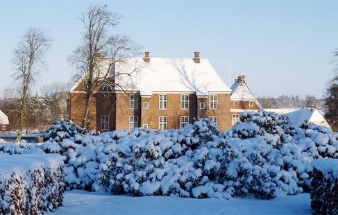 Ophold og julemarked på slot