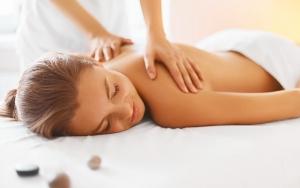 Afslappende aromatisk massage