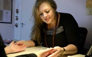 Blindtegning og håndlæsning