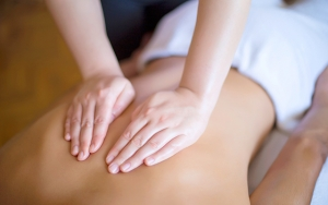 Velværende massage