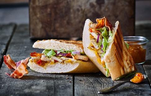 Smagfulde sandwich