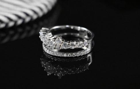 Smuk sølvring