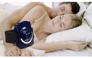Armbånd mod snorken