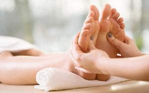 Fodbehandling eller massage