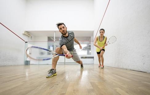 Spil squash
