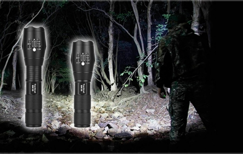 FlashLight EM3800 LED Lygte