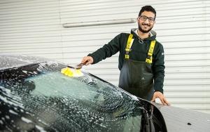 Håndvask af bilen