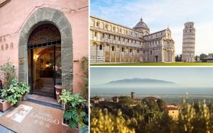 Besøg pragtfulde Pisa!