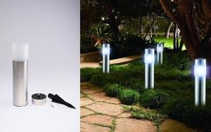 Smarte soldrevne lamper