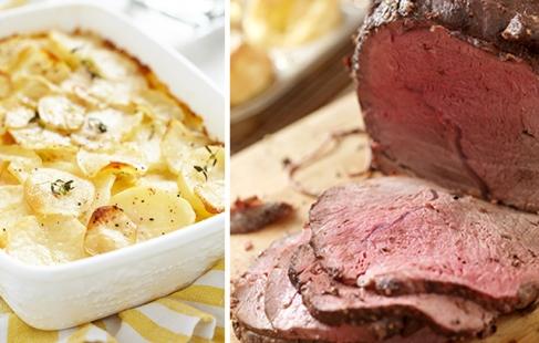 BBQ-buffet fra slagteren