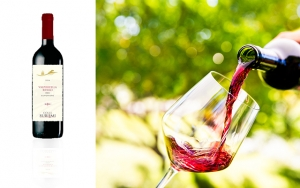 6 flasker god italiensk rødvin