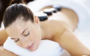 30 min. hot stone massage