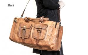 Flot lædertaske