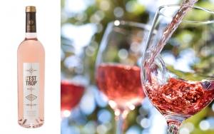 12 flasker rosévin