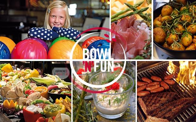 Grillbuffet & bowling