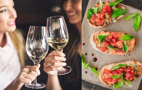 Middag med vin ❤