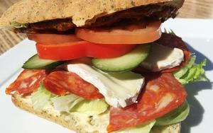 Sandwich hos Stalden
