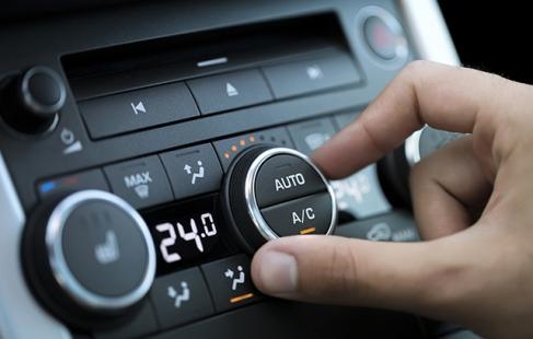 Kølig luft i bilen