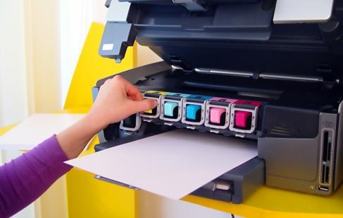 Nyt blæk til printeren