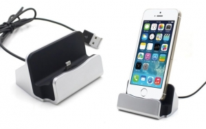 Opladerstation til iPhone