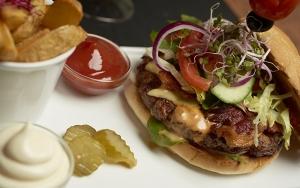 Brandgo' burger hos Buffalo