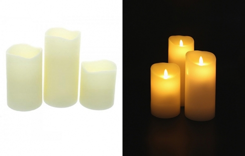 Originale LED-stearinlys