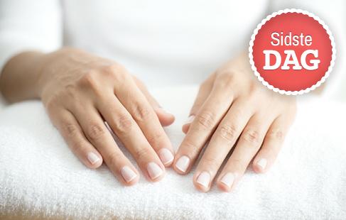 Skøn spa manicure