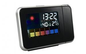 LED-vækkeur med projektor