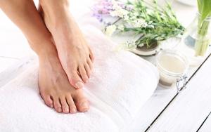 Bløde og friske fødder
