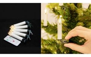 Lysende julestemning