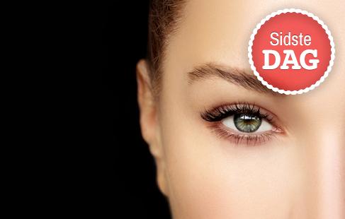Luksuriøst øjenvippe-løft