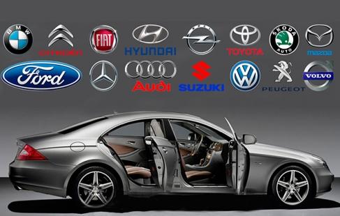 Logo-lir til bilen