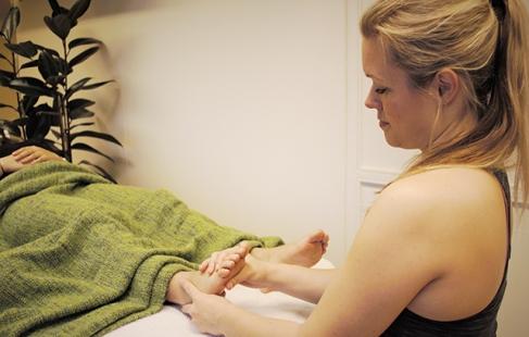 Massage eller zoneterapi
