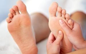 Fantastisk fodmassage