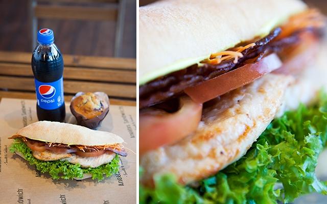 anettes sandwich kalorier