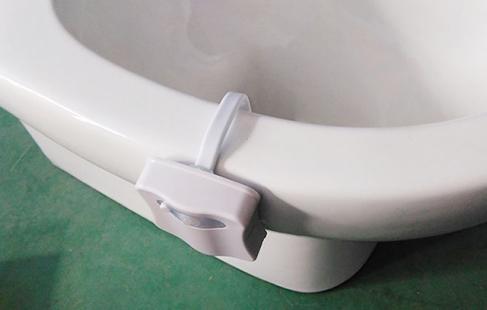 Lys løsning til badeværelset
