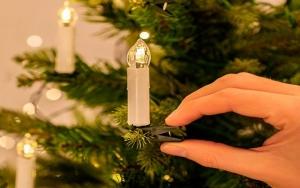 Ledningsfrie julelys