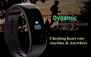 Smart ur med blodtryksmåler