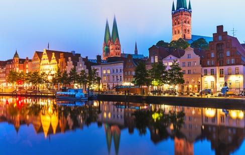 Ferie i smukke Lübeck