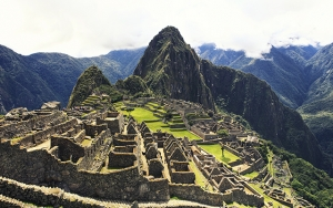 Machu Picchu og Amazonas
