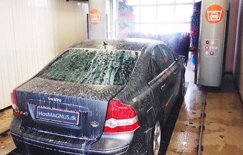Perfekt bilvask i Råsted