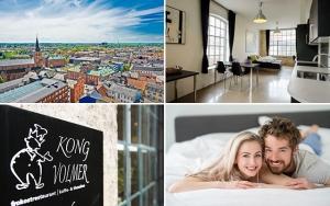 Bo kongeligt midt  i Odense